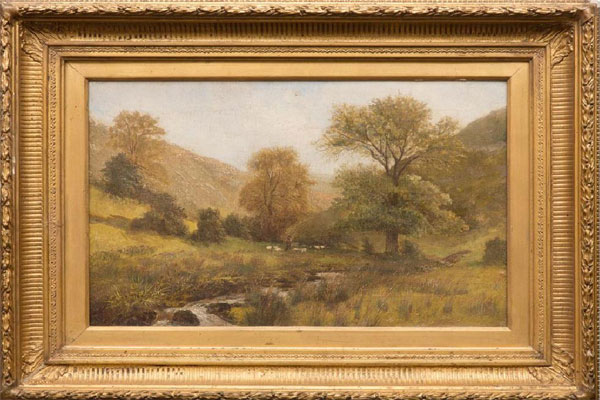 alfred vickers painting at auction 17th January